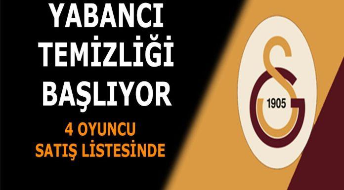Galatasaray yabancı temizliği