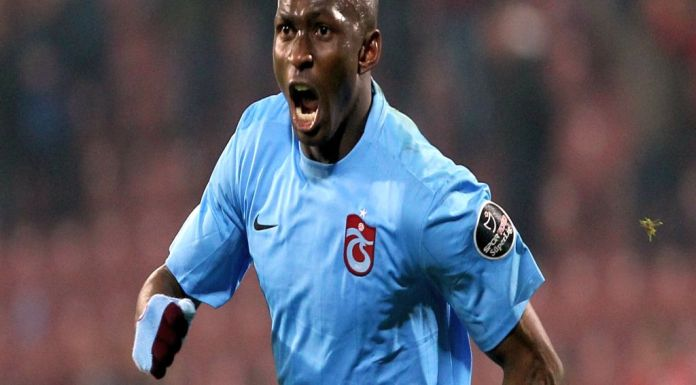 Stephane Mbia Trabzonspor