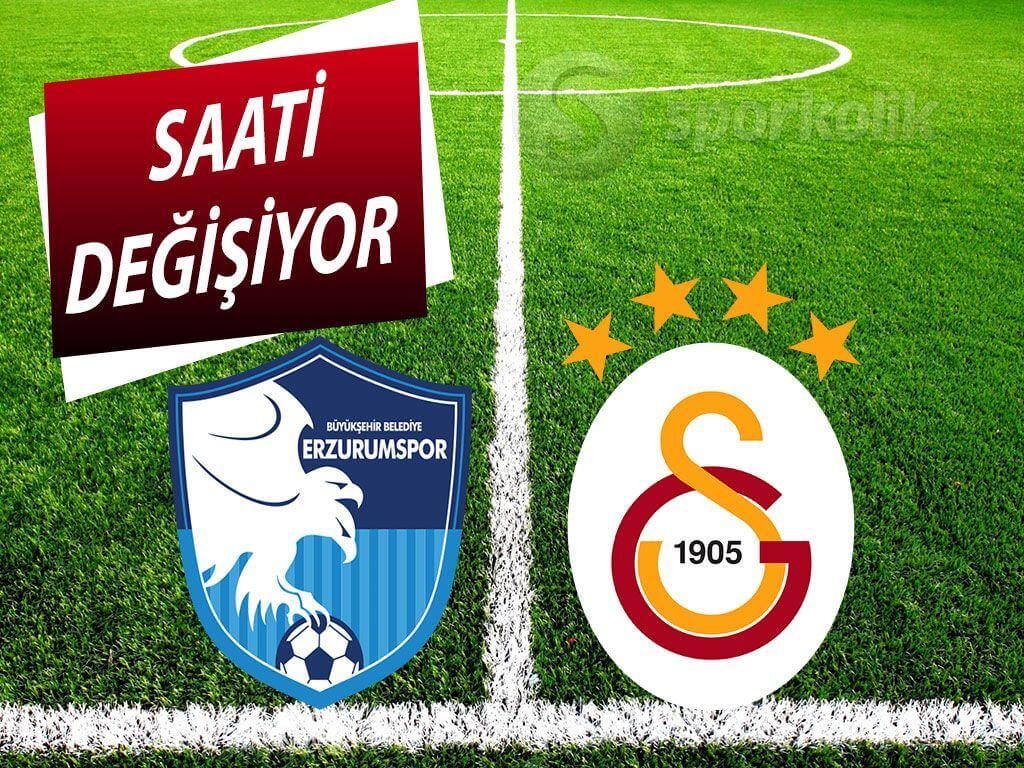 Erzurumspor Galatasaray maçı