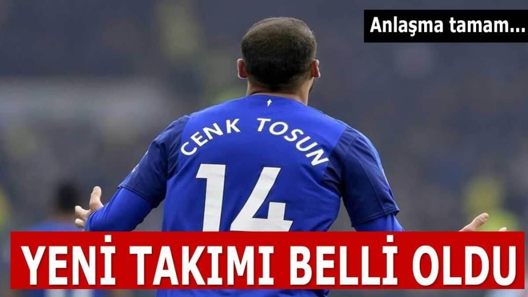 Cenk Tosun Crystal Palace
