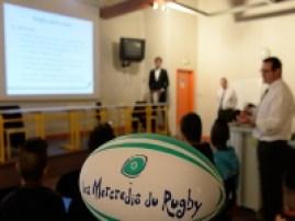 """10ème anniversaire des """"Mercredi du Rugby RATP"""""""