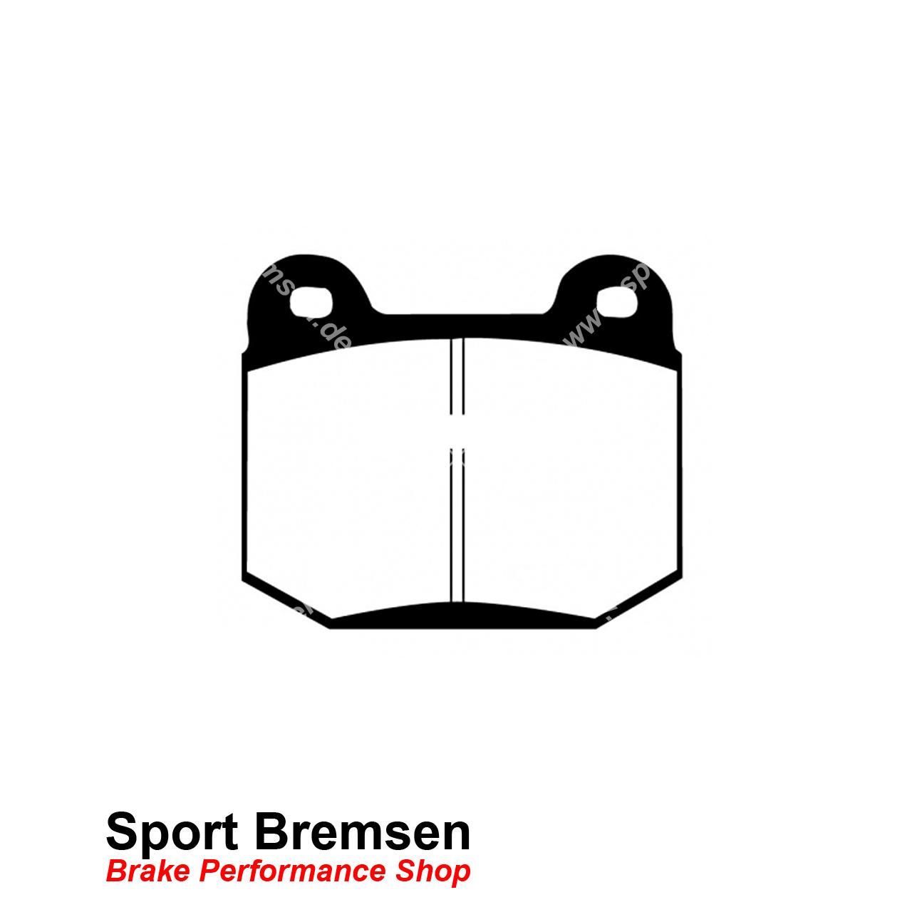 Ebc Redstuff Keramik Bremsbelage Fur Nissan 350z Brembo