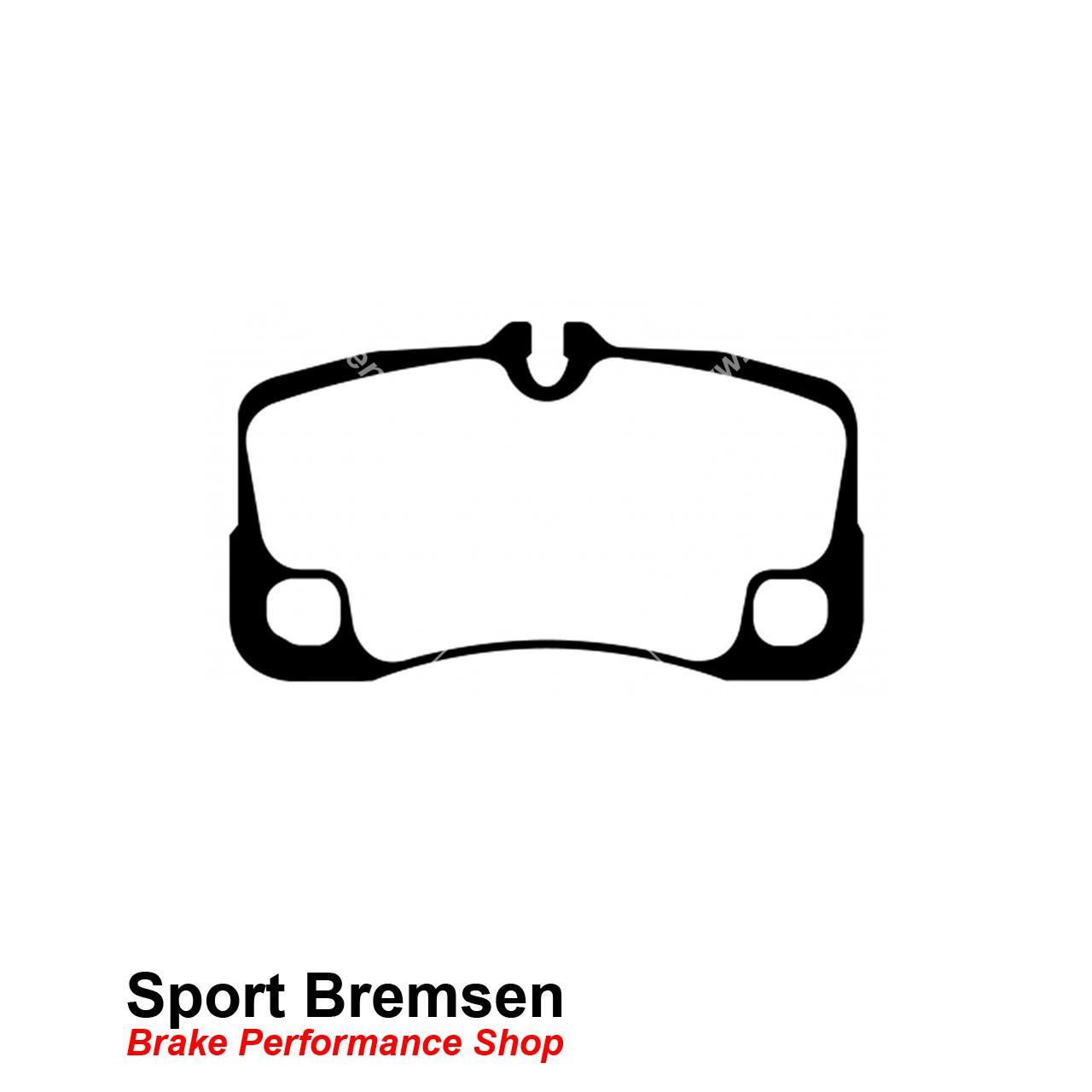 Ebc Redstuff Keramik Bremsbelage Fur Porsche 911 Turbo 3 6