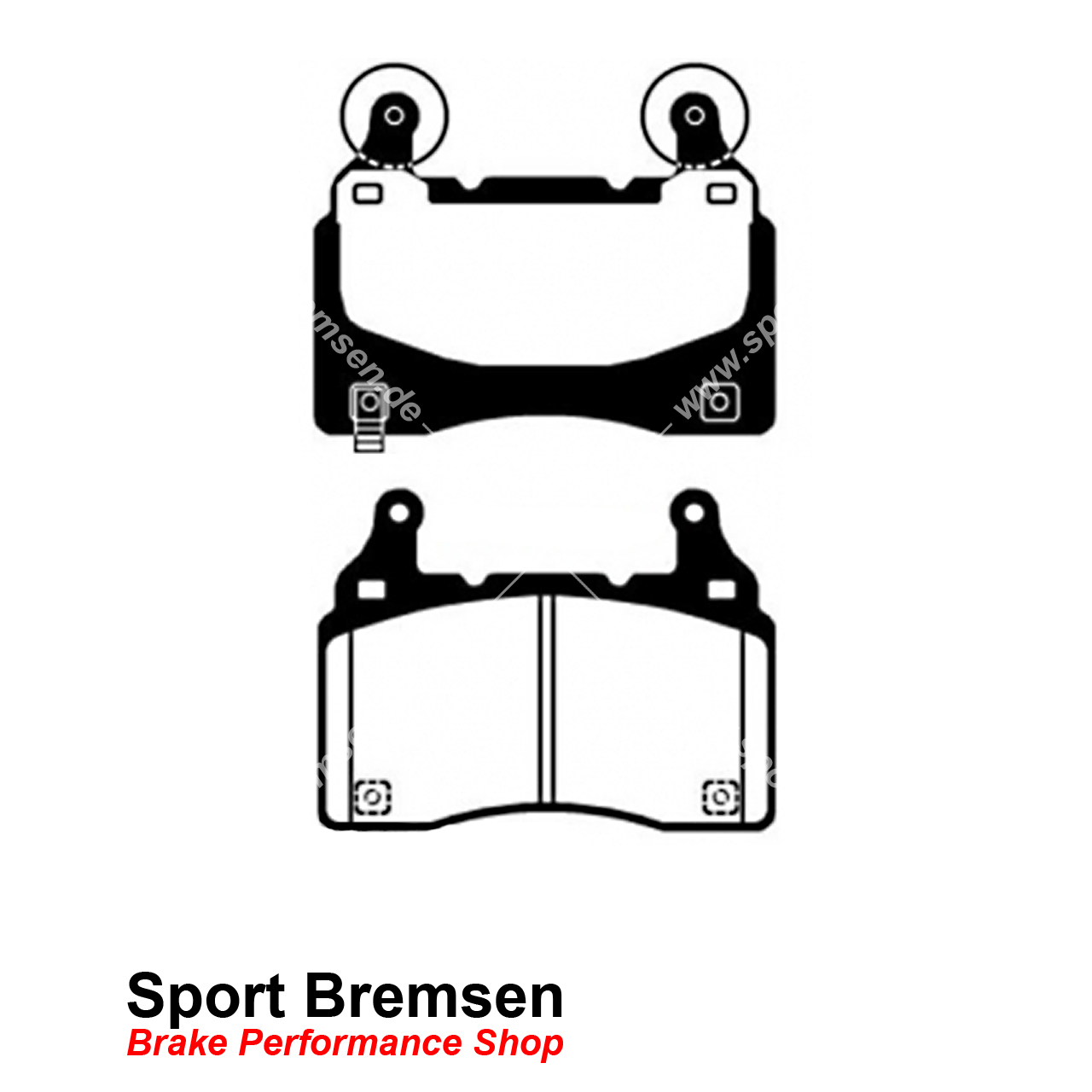 Ebc Redstuff Keramik Bremsbelage Camaro 5 6 2 V8 Dp C