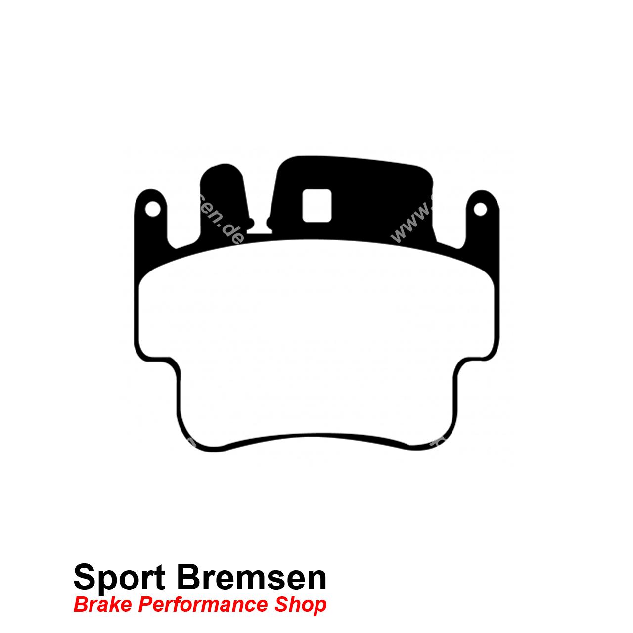 Ebc Racing Bluestuff Bremsbelage Fur Porsche 911