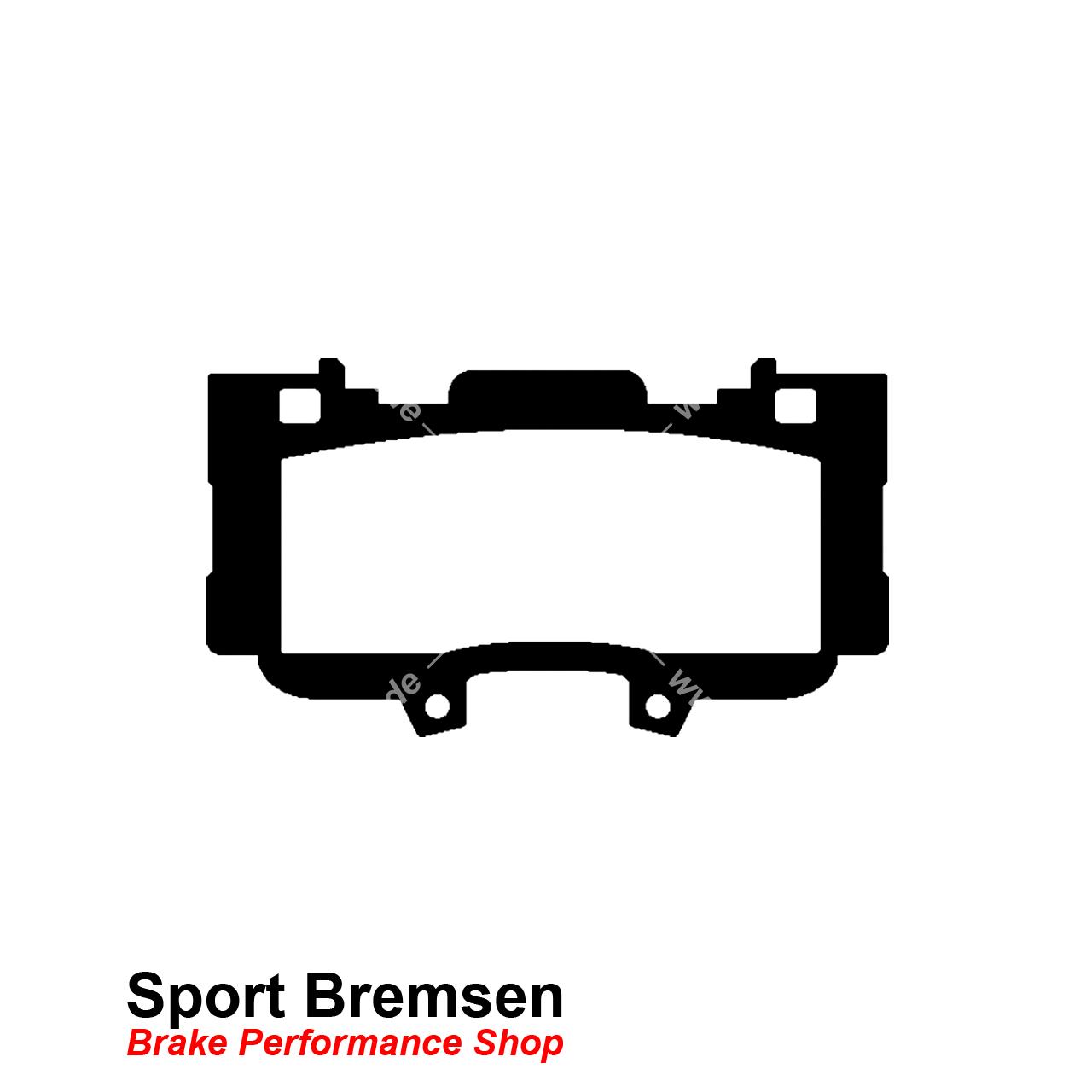 Ebc Yellowstuff Bremsbelage Fur Ford Mustang 6