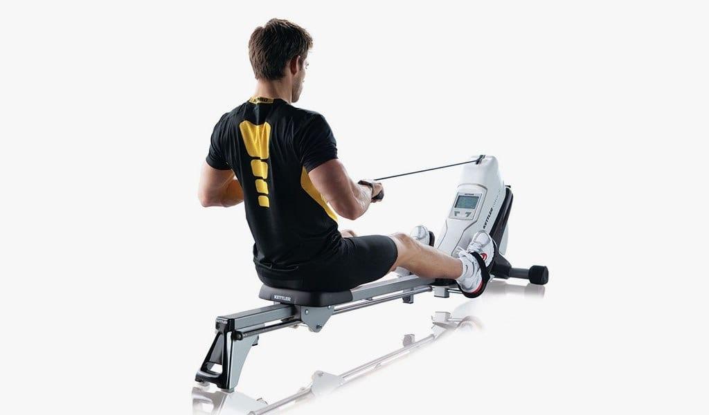 quels muscles travaillent avec le rameur