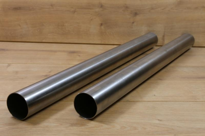 stainless steel exhaust pipe 36 x 2mm