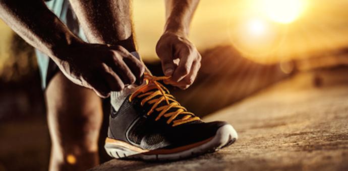 Marathon training section