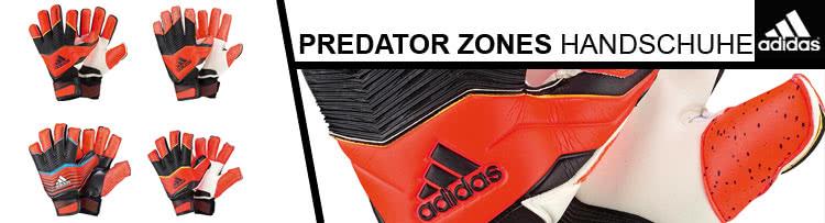 Die Adidas Predator Zones Torwarthandschuhe für 2014/2015 mit Pro und Fingersave Allround