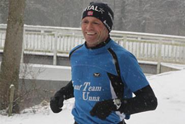 Späte Ehrung für Conny Mashiter und Michael Theil vom Lauf Team Unna