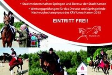 Viertägiges Reit- und Springturnier des ZRFV Kamen beginnt
