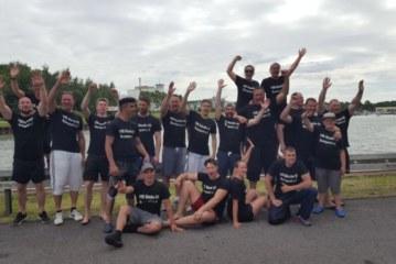 VfK Rünthe erfolgreich im Drachenbootrennen beim Bergkamener Hafenfest