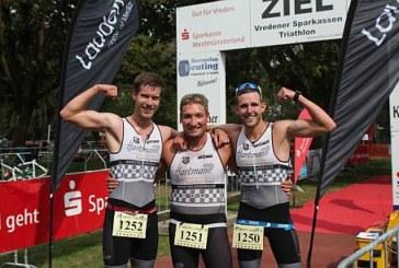 Hartman Tris im Einsatz beim Münster Marathon