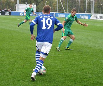 HSC reicht eine starke erste Halbzeit nicht gegen Schalke