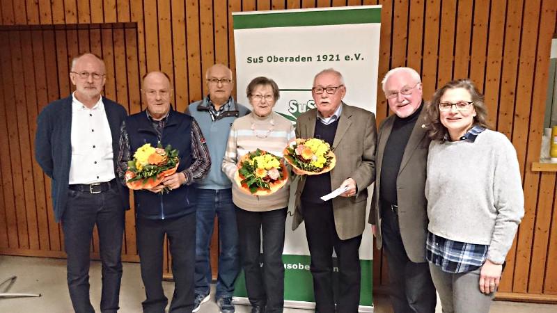 31. Dreikönigstreffen des SuS Oberaden: Günter Ebeling für 60. Sportabzeichen geehrt