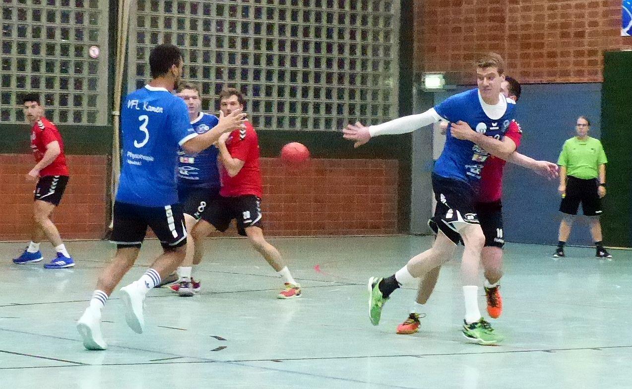 Handball-Bezirksliga: SuS Oberaden II mit starker Leistung – VfL steigert sich nach der Pause gegen Dellwig