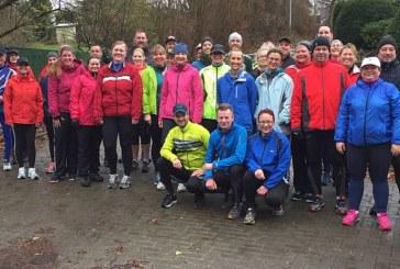 Rege Teilnahme am LTU-Laufanfängerkurs trotz Schmuddelwetters