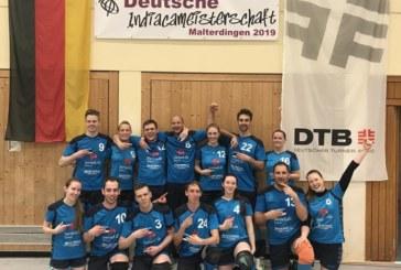 Deutsche Indiaca-Meisterschaften: Zwei Titel – Alle drei Kamener Teams reisen im Juli nach Estland