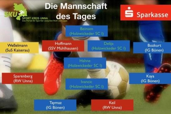 Fußball-Ober-Landes- und Bezirksliga: Mannschaft des Tages