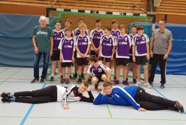 Die neu formierte Handball C-Jugend des SuS Oberaden gewinnt den Kreispokal