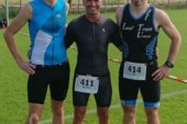 LTU-Triathleten beim Kamener Sparkassen- und Indeland-Triathlon am Start