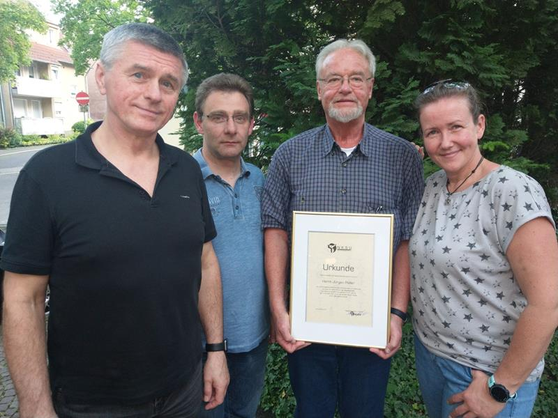 Nach41 Jahren: Jürgen Poller  hört als Vereinschef auf