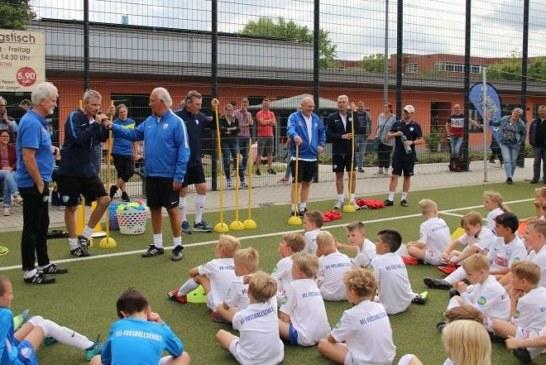 Kamener SC startet mit der VfL Bochum Fußballschule in die Sommerferien