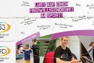 Junge engagierte Menschen für einen Freiwilligendienst im Sport gesucht