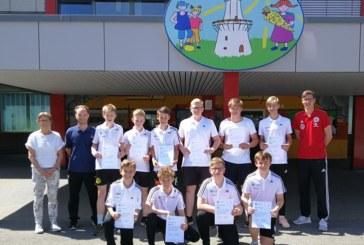 Zehn neue Junior-Coaches