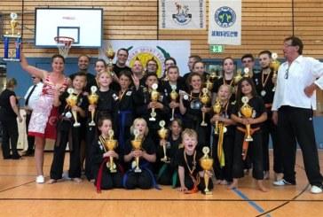 Sportler des Kuk Sool Won Kampfsport Centers aus Unna meisterlich bei der German Mastes Open