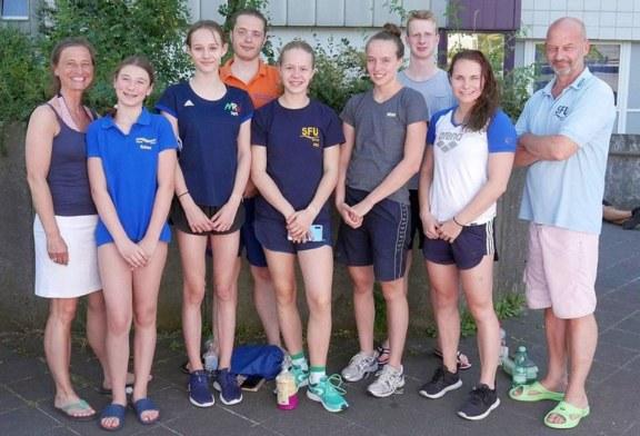 Denise Quentin: Drei Medaillen – zwei Vereinsrekorde