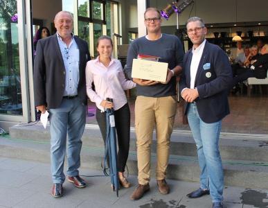 Amelie Pradel und Johannes Kobeloer Bruttosieger beim Preis des Präsidenten im Golf Club Unna-Fröndenberg