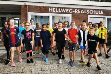 """Sponsorenlauf für ein """"grünes Klassenzimmer"""" – Hellweg-Realschüler drehen am 2. Oktober ihre Runden durch Massen"""