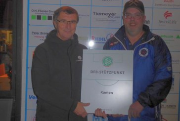 Im Kamener Jahnstadion werden die besten Fußball-Talente aus dem Kreisgebiet im Stützpunkttraining gesichtet und gefördert
