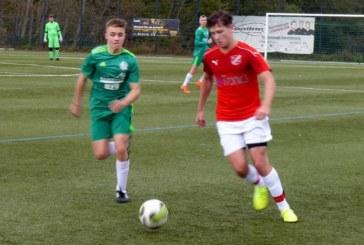 SuS Kaiserau führt mit den A- und C-Junioren die Bezirksliga-Tabelle an