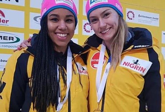 Laura Nolte fehlt nur ein Wimpernschlag zum Doppelsieg beim Europa-Cup in Winterberg