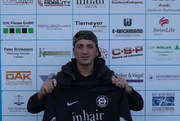Murat Büyükdere stürmt für den VfL Kamen
