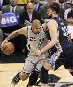 NBA 2013: Marc Gasol, Tim Duncan