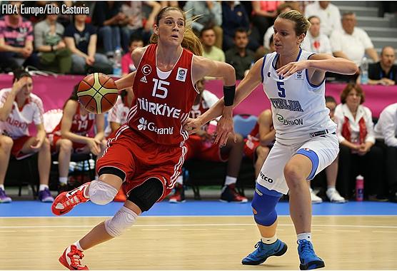 Eurobasket 2013 Turchia Italia, Nazionale Basket femminile