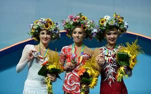 Il podio concorso generale con la Kudryavtseva,