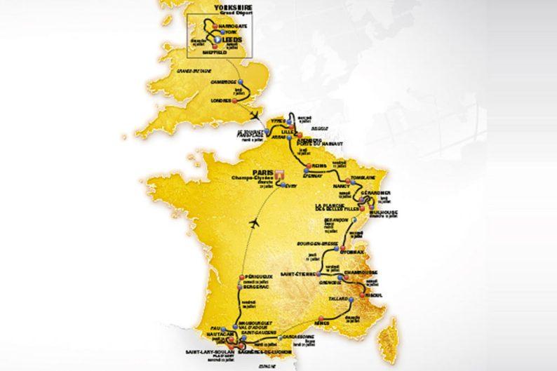 Tour de France 2014: omaggio ai poteri forti
