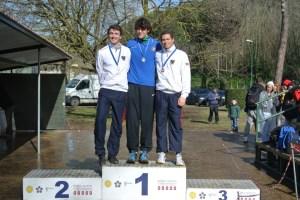 Campionati Italiani Pentathlon 2014: il podio Senior Uomini