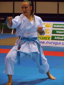 Terryana D'Onofrio, kata, Karate