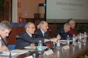 Gianluca Santilli, Luigi Simonetto, Renato Di Rocco