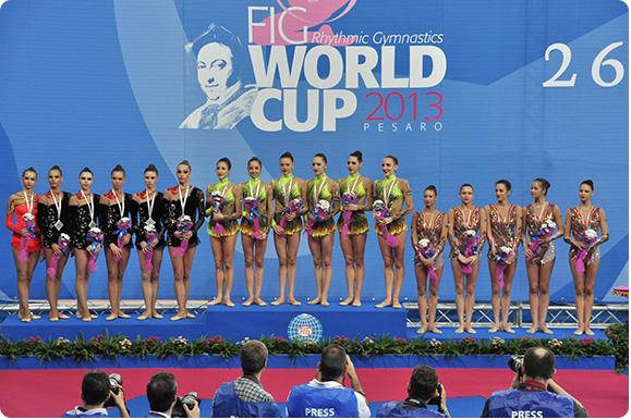 World Cup Ginnastica ritmica, è il momento del Città di Pesaro