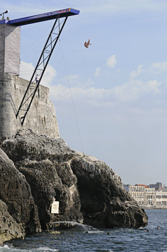 Red Bull Cliff Diving World Series, all'Avana spettacolo puro