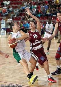 Eurobasket Women 2015, Italia Portogallo