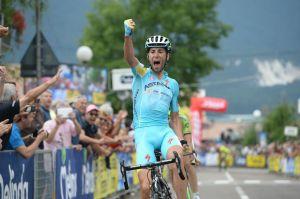 Vincenzo Nibaili sul traguardo del Trofeo Melinda