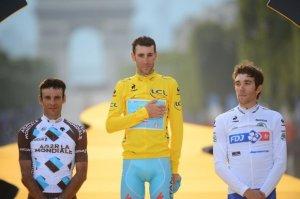 IL podio del Tour 2014